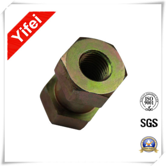 Yifei Machinery Customized Forging Brass Screw Nut Parts